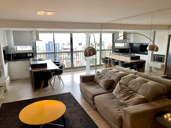 Excelente apartamento 1 dormitório. 1 garagem