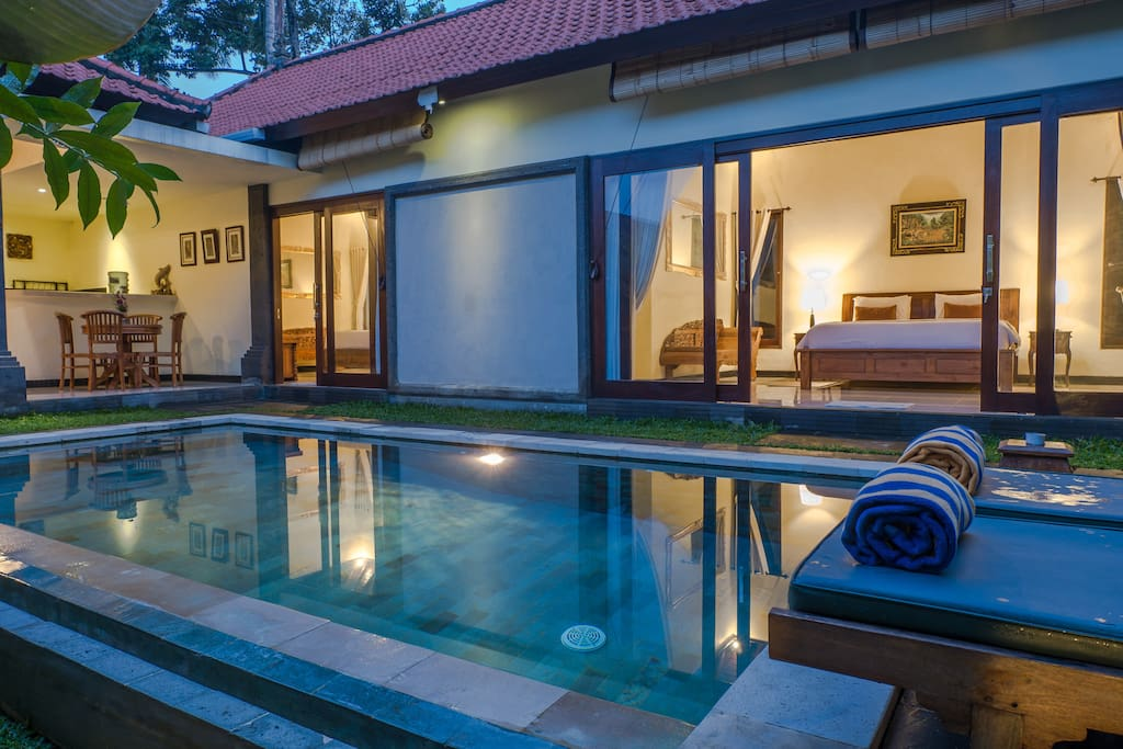Feel the serenity in Balinese ambience