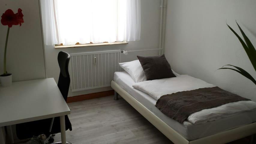 Top-Lage! Neu möbliertes Zimmer, 4 Min. Hbf - Mannheim - Daire