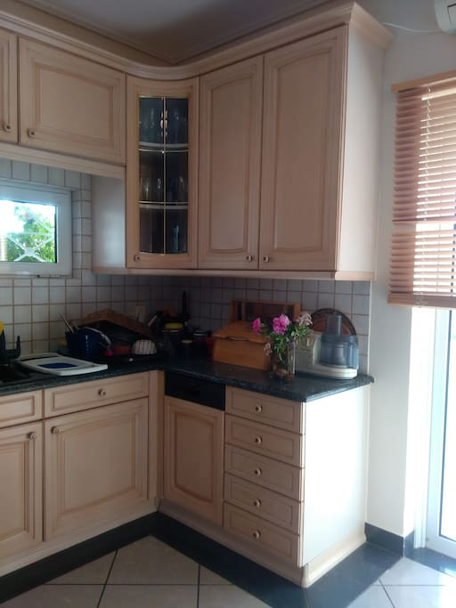 Small area of kitchen