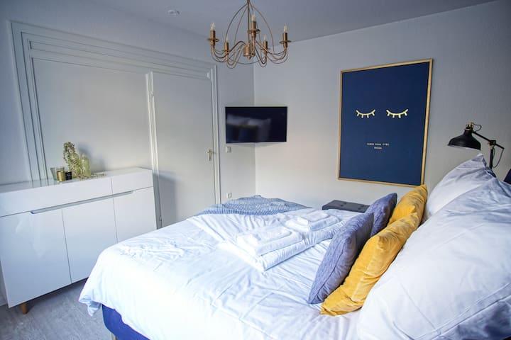 Beide Zimmer mit Smart TV - both rooms with smart TV