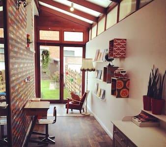 Charming apartment with garden! - Antwerpen - Huoneisto