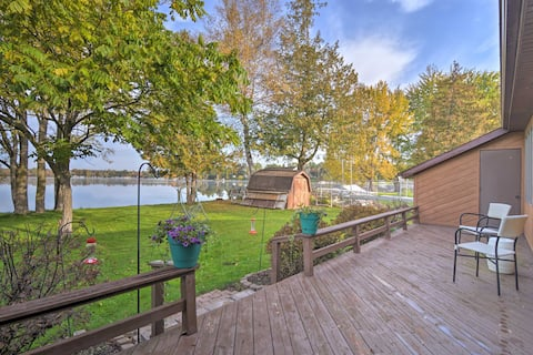 NEW! Charming Lake George House w/ BBQ & Fire Pit!