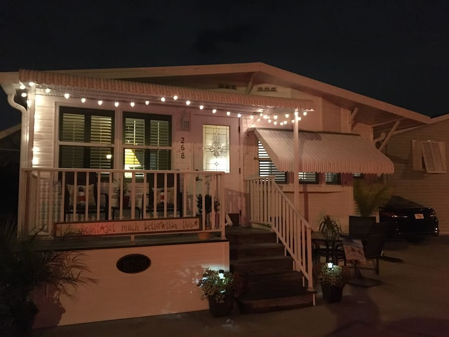 The front porch is our guests favorite spot!