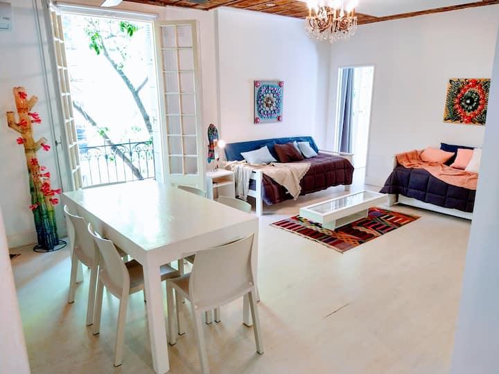 Casa Palacio luminoso 3 ambientes en Belgrano R
