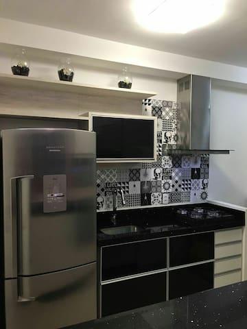 Luxuoso e moderno apto completo! - São Bernardo do Campo  - アパート