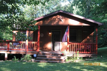 Starry Night Cabin - Cacapon River access - Great Cacapon