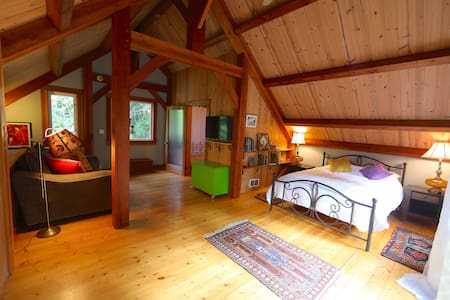 Island Timber Frame Guesthouse