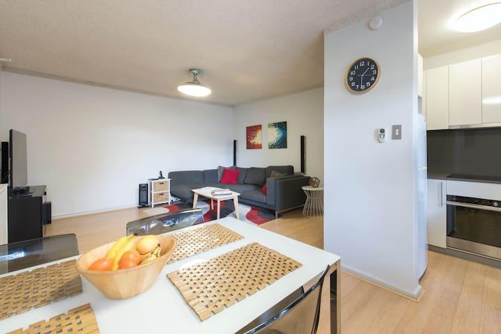Chambre dans un appartement moderne
