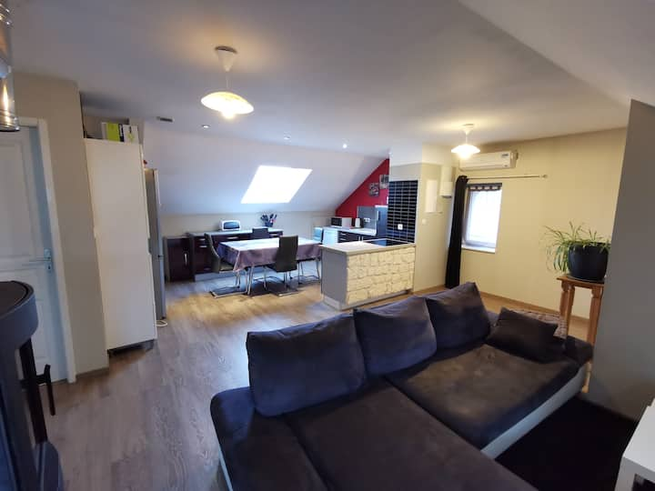 Appartement spacieux à 10km de Gérardmer Alsace