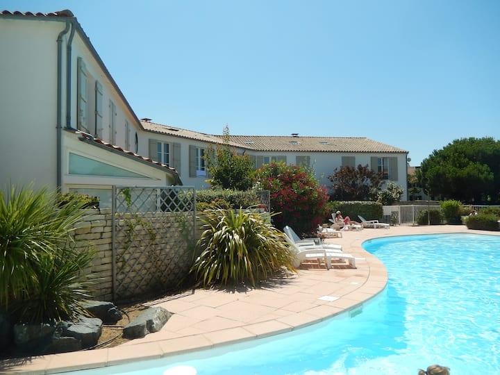 Sand'Re loc - Duplex 5 pers. piscine, plage 100m