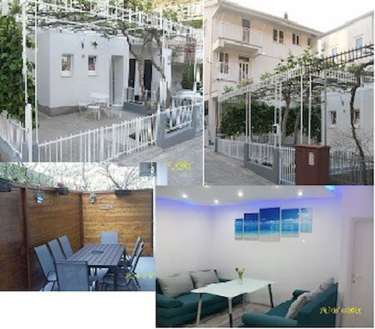 APP 6+2 Apartman Ilijana - Podaca - Apartment