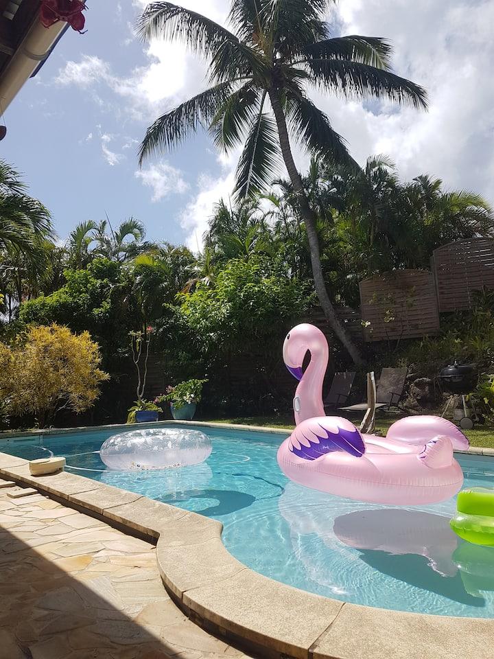 Villa Filao, 4 chambres, piscine privée