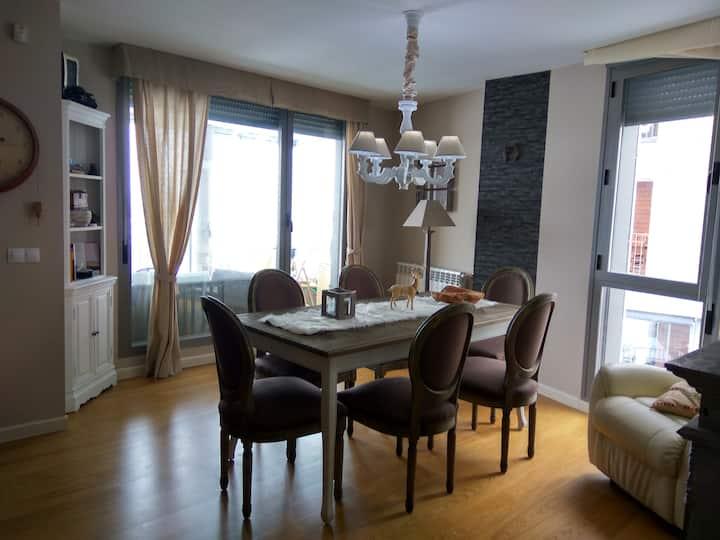 Precioso apartamento con terraza y bonitas vistas