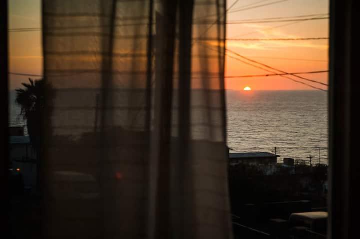 Casita D'Rua. Calm, Seaview & Great Location