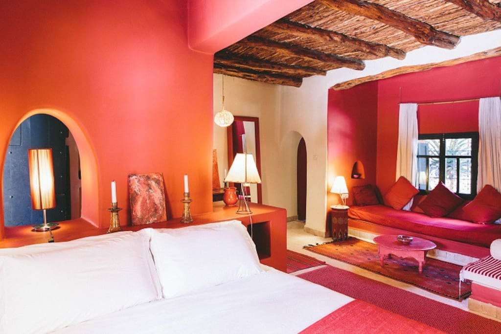 Riad Baoussala - chambre Rouge