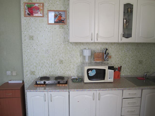 1-комнатная квартира-студия - Omsk - Apartment