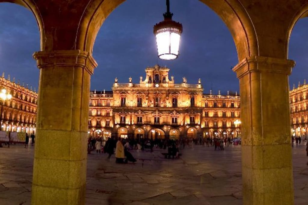 a 17 km de la plaza mayor de Salamanca