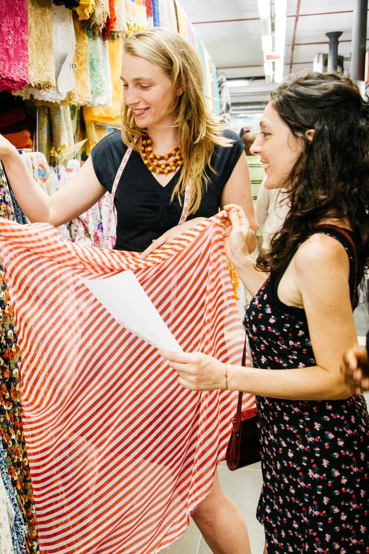 Browse the market to find a fabric