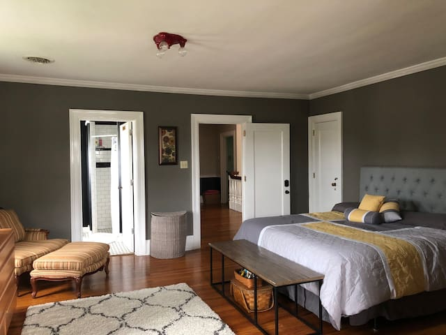 Guest suite in spacious historic home