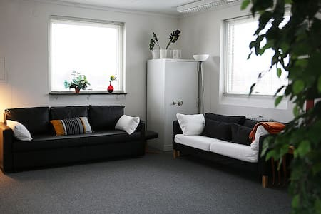 Sunny family friendly studio apartment. - 卡爾斯塔德(Karlstad) - 公寓