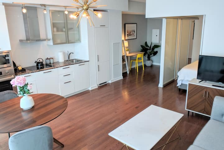 Modern & Bright Condo w/ Lakeview in Entertainment District