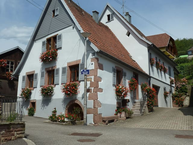 """Gîte * * * """"La Maison aux Géraniums"""""""