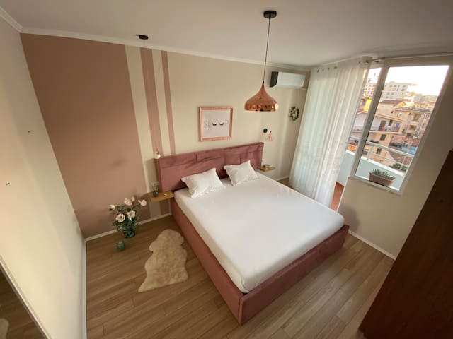 The ideal bedroom has enough light to make it feel cheery and spacious and plenty of extra light for activities such as a reading.  A king-size mattress, with its increased surface area 190*200 cm, makes sleeping comfortably.