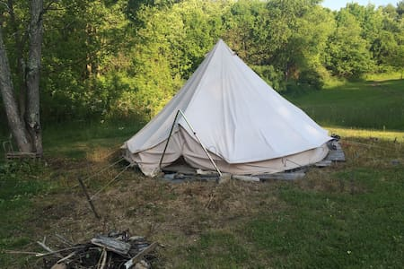 Sibley Tent - On Decking Camping ! - Yurta