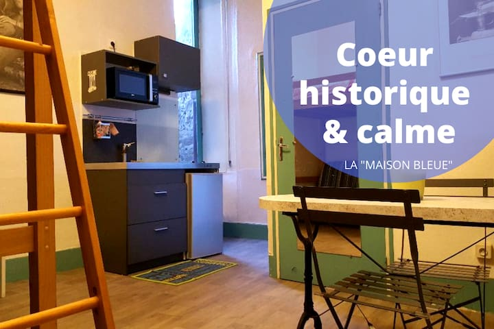Quiet studio in the city center of Rodez