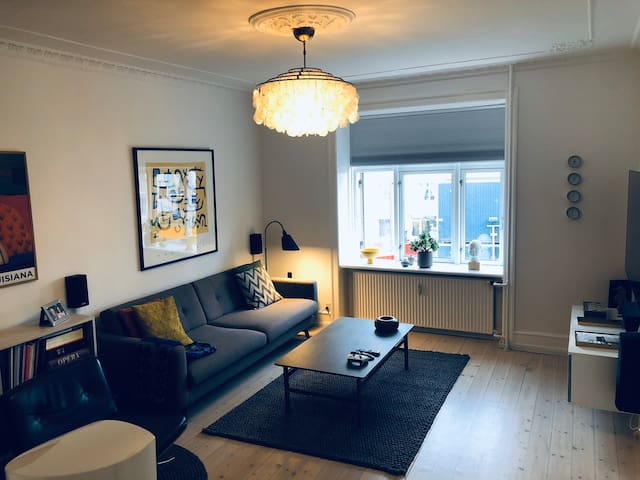 Beautiful, spacious apartment in heart of Østerbro