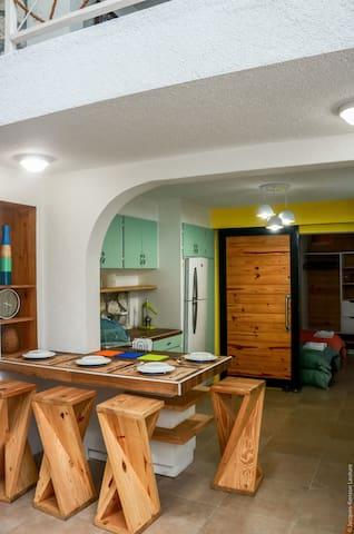 Modern apartment in Pélerin
