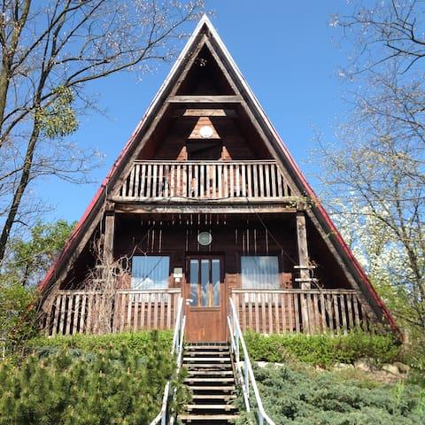 Domek w ogrodzie - Górzno - Chatka