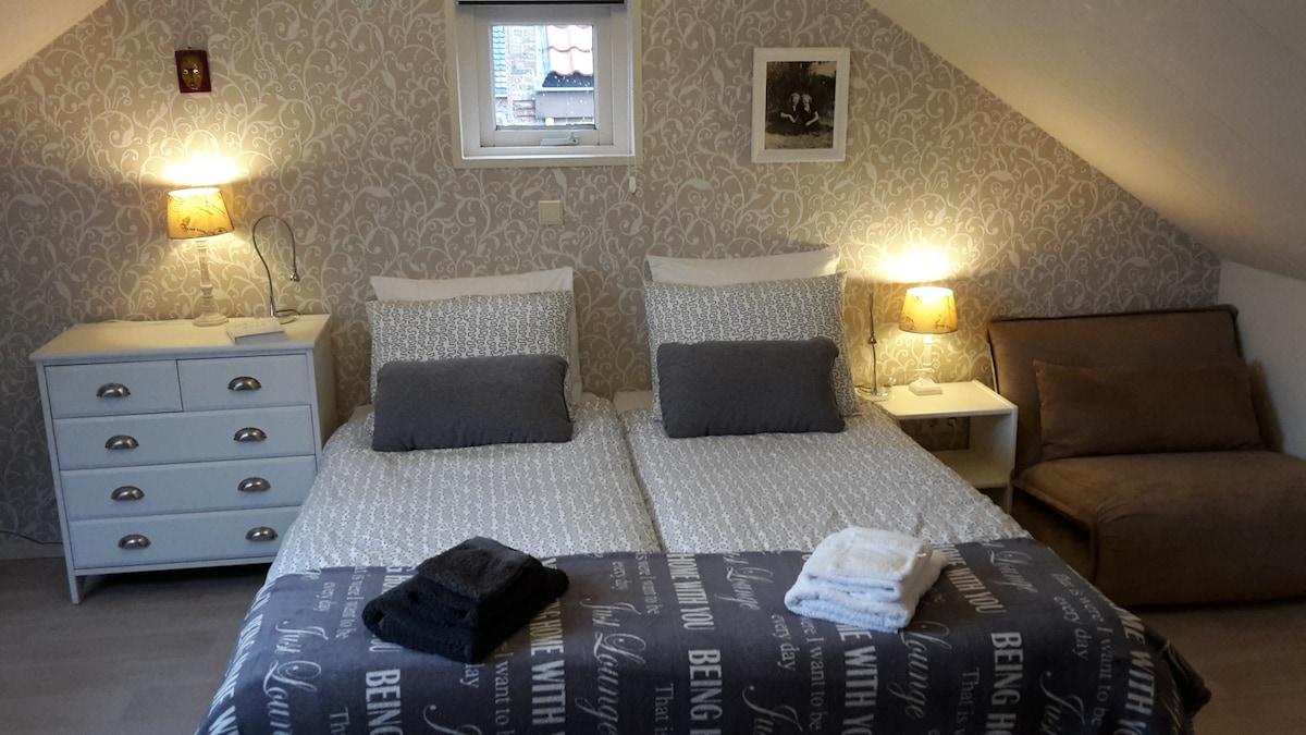 De Ideale Zolderkamer : Moderne zolder studio met bad douche m appartementen te huur