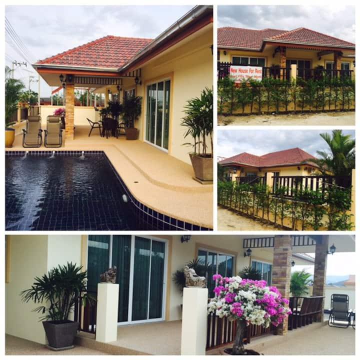 New Pool Villa in Cha Am