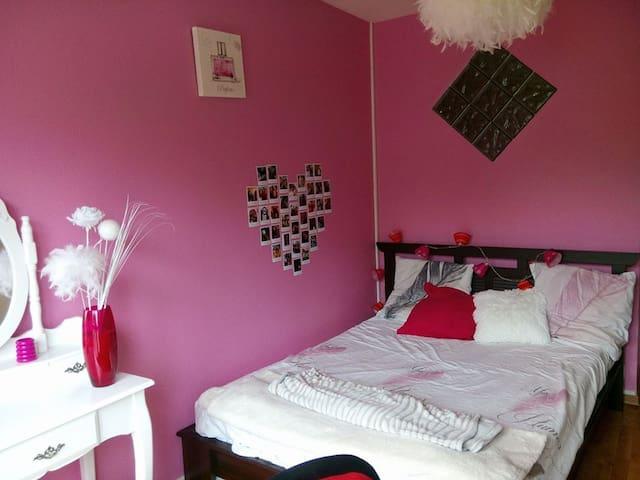 Joli appartement île de Nantes - Nantes - Wohnung