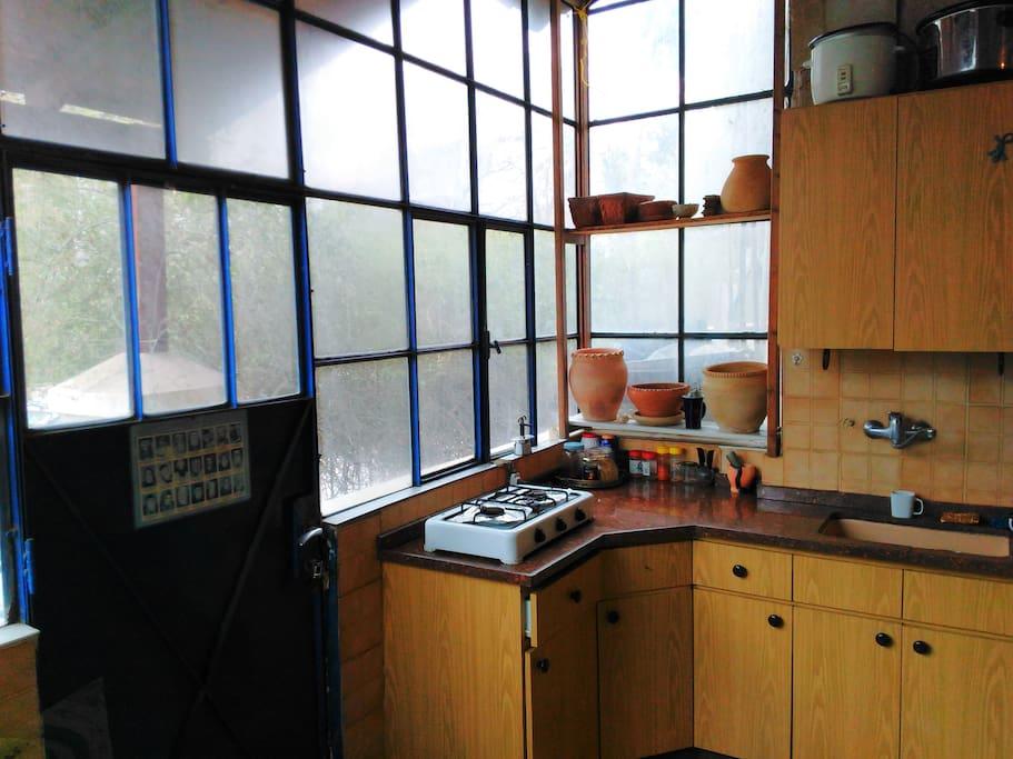 kitchen - belgian windows