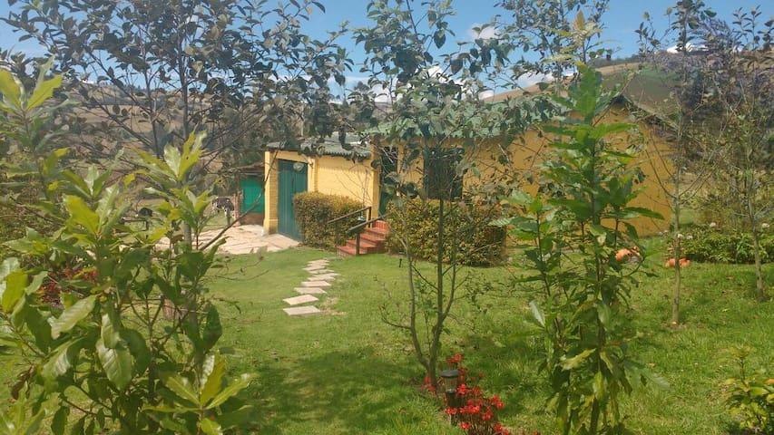 Acogedora cabaña de campo a las afueras de Bogotá
