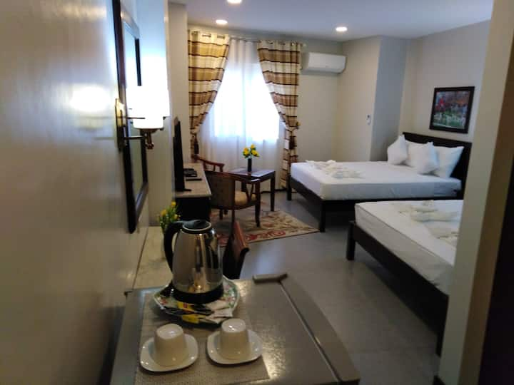 Triple Room for 3 at Venezia Suites Hotel Iloilo