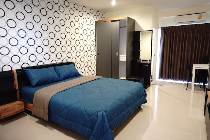 Stylish Room Near BTS - Bangkok - Appartement
