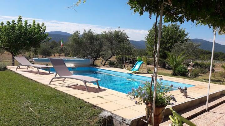 Location villa vacances au soleil.campagne