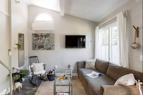 Boho-Chic geïnspireerde Guesthouse Studio Loft