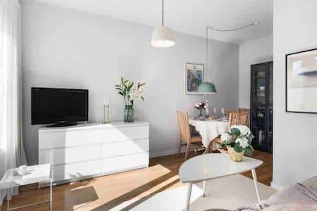 Top floor apartment in Stockholm city