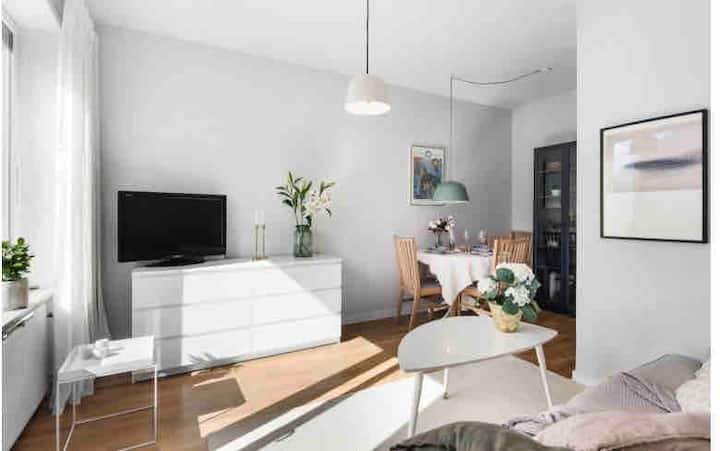 Top floor apartment in Stockholm city