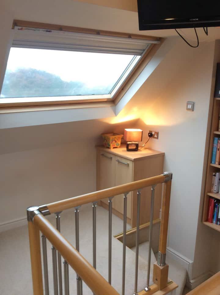 lovely  loft conversion
