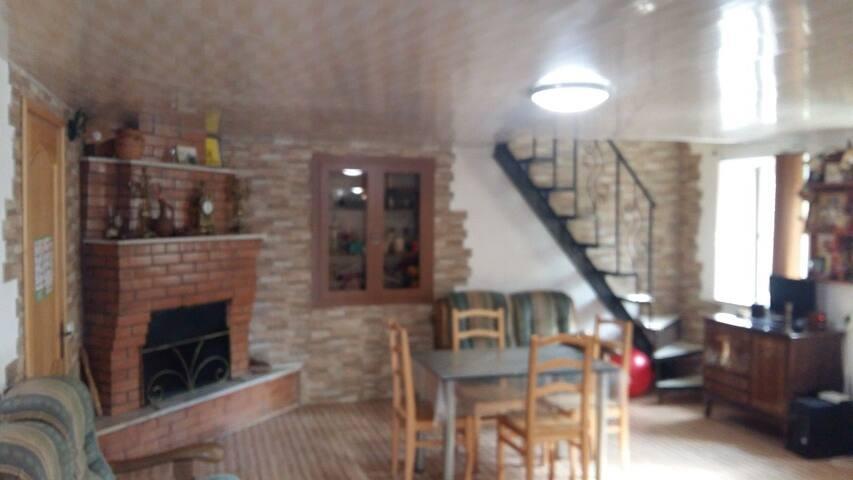 Первый этаж гостевого дома.The first floor of the guest house.
