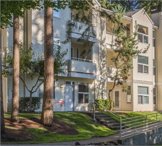 1 Bed apartment near Microsoft/Redmond Town Center - Redmond - Wohnung
