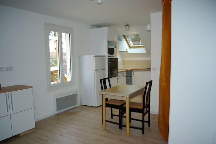 Loft neuf 32 m², calme, proche centre Vieil Annecy