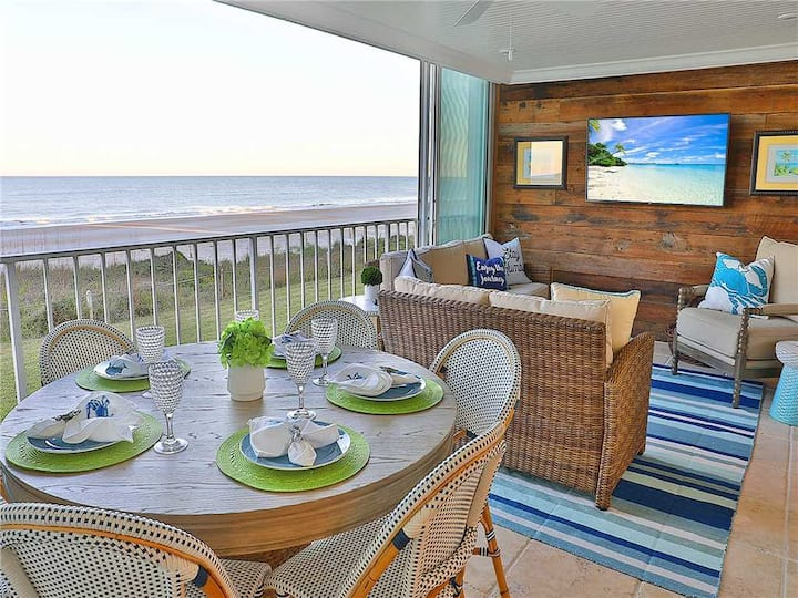 Ponte Vedra Ocean Manor 106-D, 3 Bedrooms, Beachfront, Sleeps 10