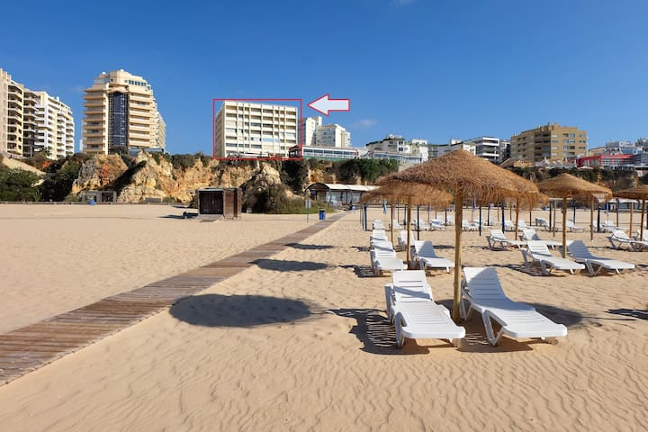 Beach front apartment for 4, Praia Rocha, Algarve - Portimão - Appartement